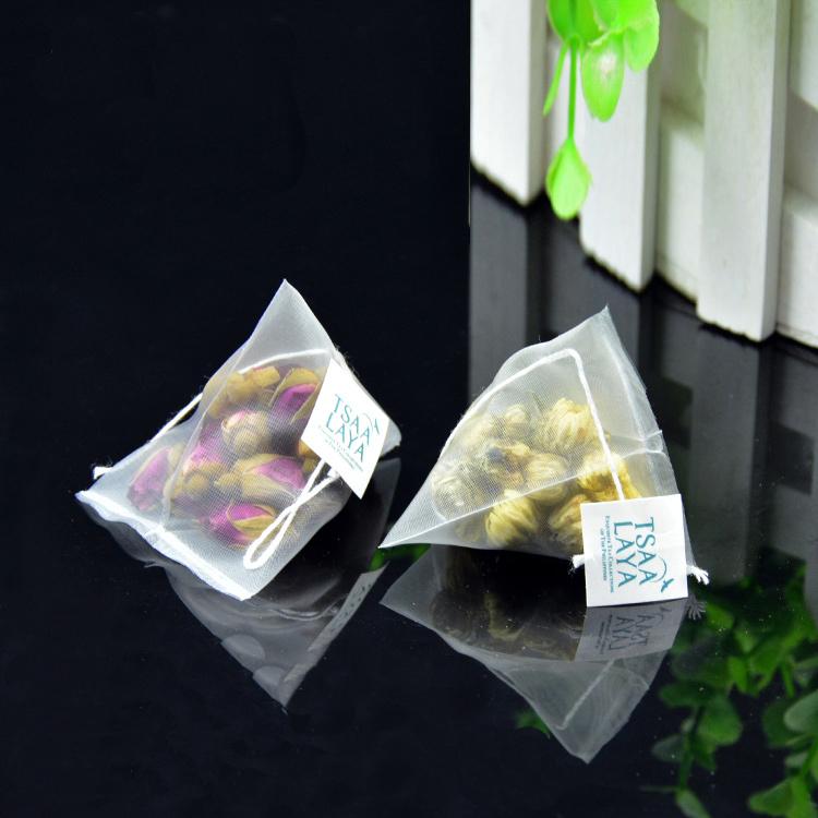 Biodegradable pyramid tea bags customized private label - 4uTea | 4uTea.com