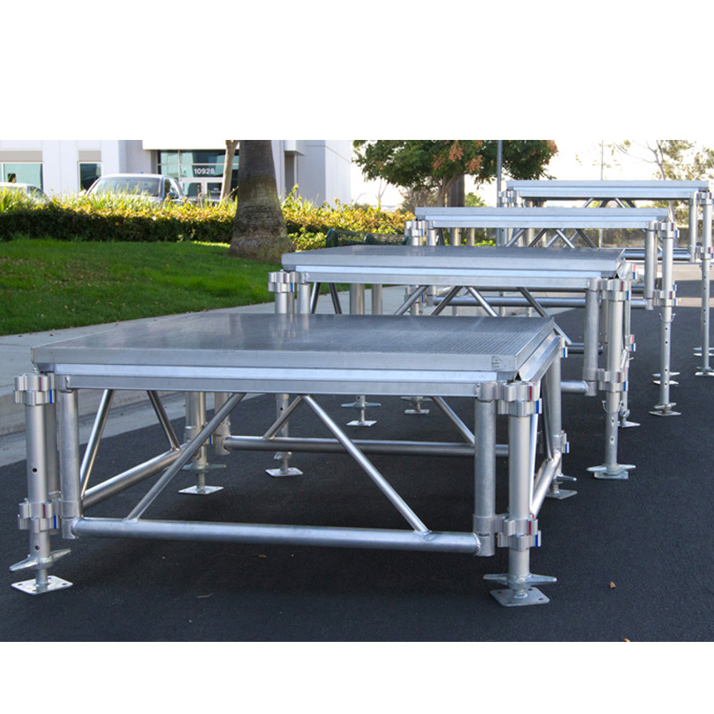 pakistan wedding stage Folding Wooden stage Platform Aluminum stage stand