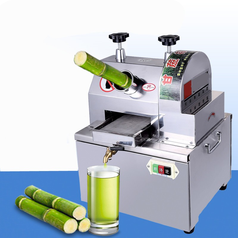 Commercial battery sugarcane machine Automatic table type electric stainless steel stall sugarcane Juicer