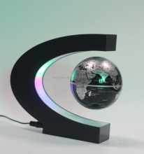 creative magnetic levitation gifts advertising equipment logo display levitating floating wireless led globe