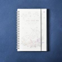 А5/А6 звезда PP спиральная спираль ноутбук Kawaii Лазерная ручная книга канцелярский дневник Еженедельный Журнал Планировщик путешествия Приме...(Китай)