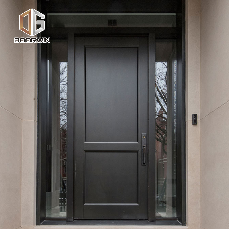Cheap Factory Price external wooden doors for sale timber entrance