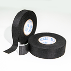 Strong adhesion anti-aging black wire harness polyester Black Cloth Tape for car