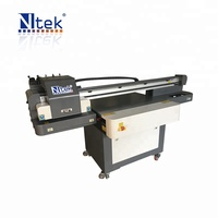 Automatic uv 3d small format wood acrylic metal glass YC6090 uv printer with best price for sale