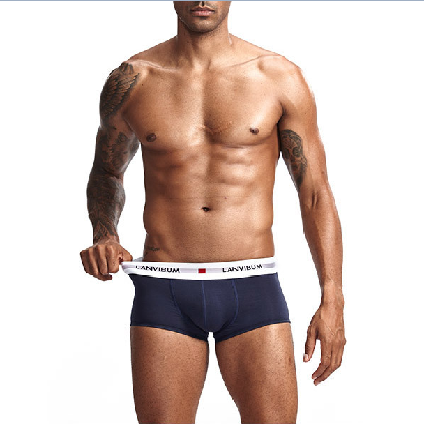 custom waistband <strong>men</strong> soft cotton underwear <strong>boxers</strong>