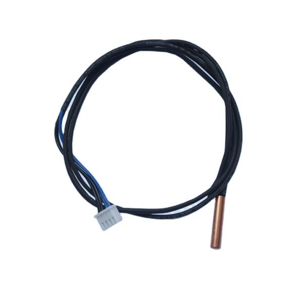 2pcs 5K 15,7 pulg Sonda termistor NTC Sensor temperatura del aire acondicionado