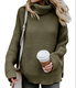 Cozy Long Sleeves Turtleneck Ladies Winter Sweater