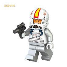 WM887 Rey Legoinglys Звездные войны Минифигурки Poe Finn Kylos Ren Dark Chewbaccaed Palpatined кирпичи блоки детские игрушки подарок(Китай)
