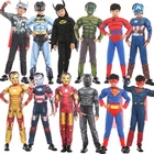 New Arrival Halloween Anime Cosplay suits Super Heroes Dresses Marvel Movie Cosplay costume for kids
