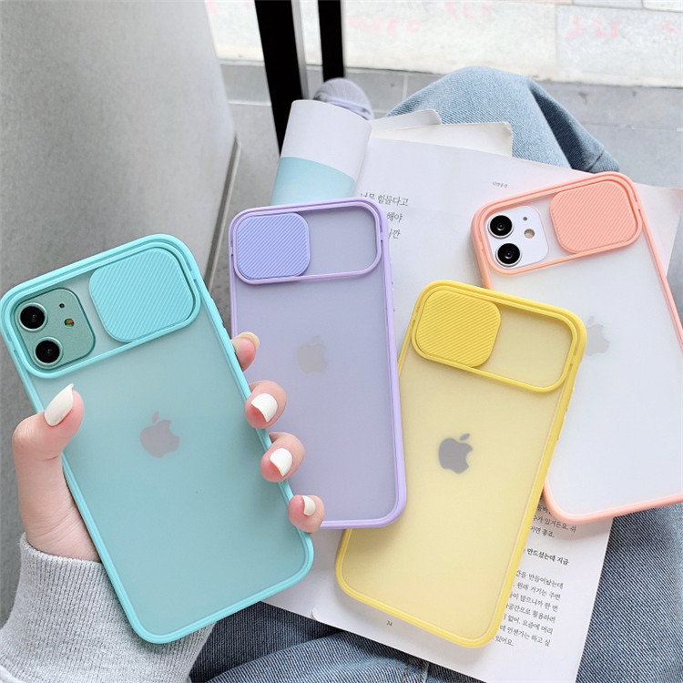 2020 Color Candy Soft Back Cover Cell Phone Case Camera Lens Protection Phone Case on For iPhone 12 11 Pro <strong>Max</strong> 8 7 Plus X Xr SE
