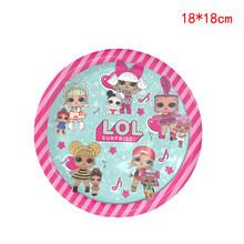 Оригинальные куклы LOL Surprise, вечерние, на день рождения, Рождество, оригинальные Аниме фигурки LOL, куклы, украшения, подарки для девочек(Китай)