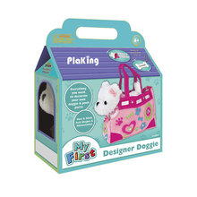 Designer Cachorrinho-Decorar and Play, Brinquedo Do <span class=keywords><strong>Cão</strong></span> de Pelúcia e Transportadora Bolsa