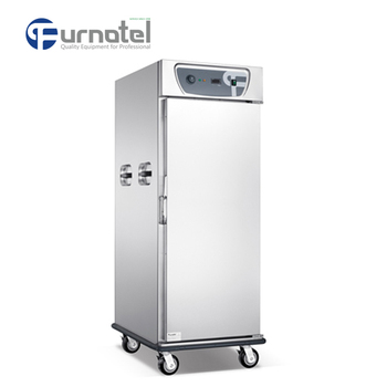 Restaurant Kitchen Heated Holding Cabinet Electric Food Warmer Cart for Catering
