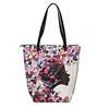 Custom Mexico Ethnic Style Flower Printed Faux Leather Small Fashionable Women Handbag Tote Bag
