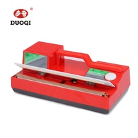 DUOQI SF-270 red color manual plastic hand press handy sealer hand sealing packing machine