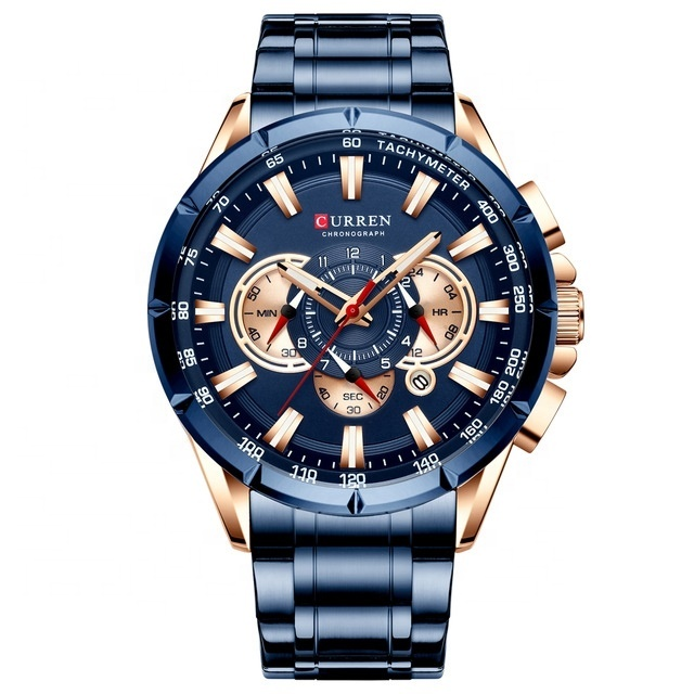 CURREN 8365 relojes de lujo de marca superior para hombre