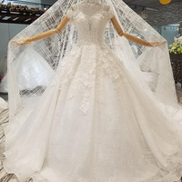 best korean celebrity bridal gauze wedding dress gown for beach wedding sample pictures
