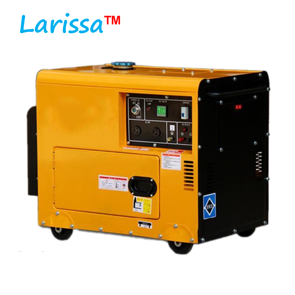 Electric Generator 230 V / 5kW <strong>Diesel</strong> 5kva 5000w Silent <strong>Diesel</strong> Generator