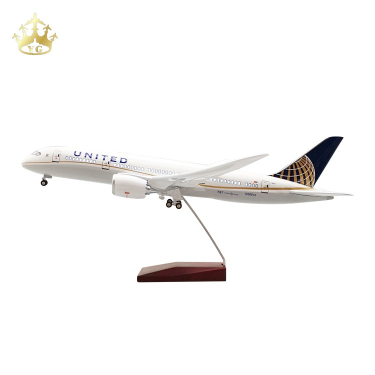 Airplane Plastic Model Resin Desktop