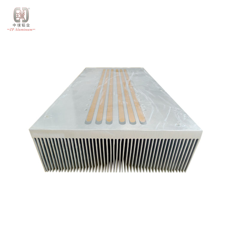 Stable quality 100w splayed led pin fin heat sink aluminum