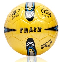 Pu Size 4 Mirror Shiny High Quality Handmade Futsal Soccer Ball Size 3