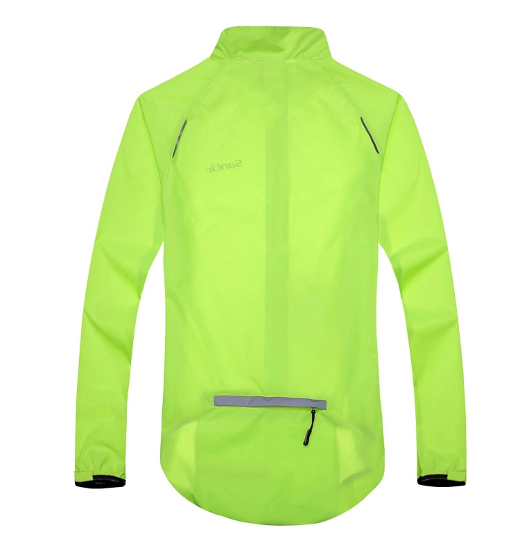 Men Outdoor Hiking Reflective Jackets Waterproof Breathable Sport Jackets Bicycle Anti-UV UPF30+ Thin Jacket