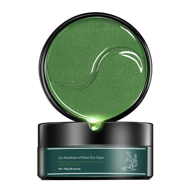 Remove Dark Circle seaweed Collagen Crystal eye mask gel Pads hydrogel herb under eye patchs korea