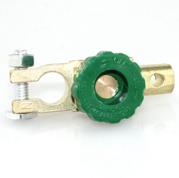 Universal Battery Link Terminal Quick Cut-off Disconnect Master Kill Shut Switch