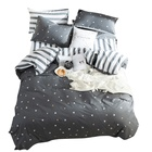 men's bedding 100% cotton bed covers bed linen set wholesale