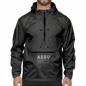 Custom Outdoor Multi-function Sport hooded Sweatshirt Plus Size Windbreaker 1/4 zip Gym Fit men's hoodies jackets