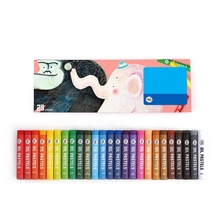 25 color high quality cheap stick safety painting small artists oil pastel set for 3 years