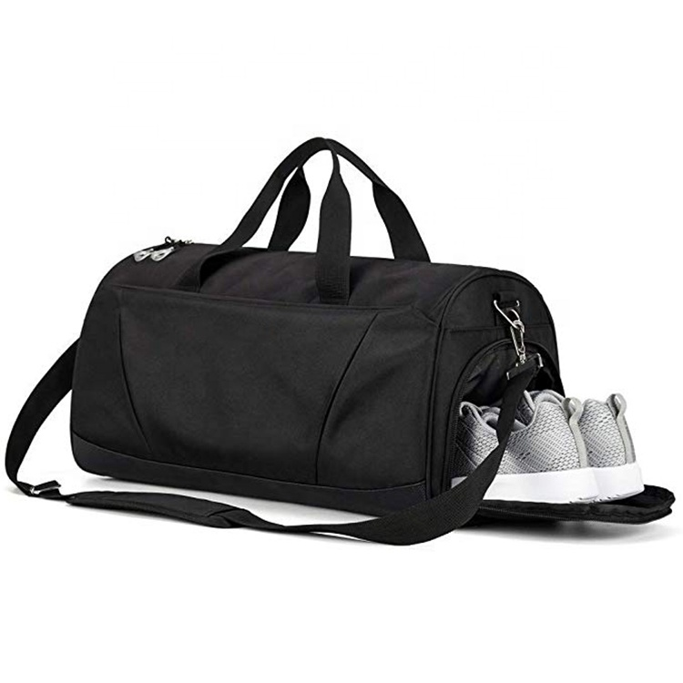 Osgoodway New Design Roomy OEM Sports Duffle Bag with Shoe Compartment and Insulated Side Pocket