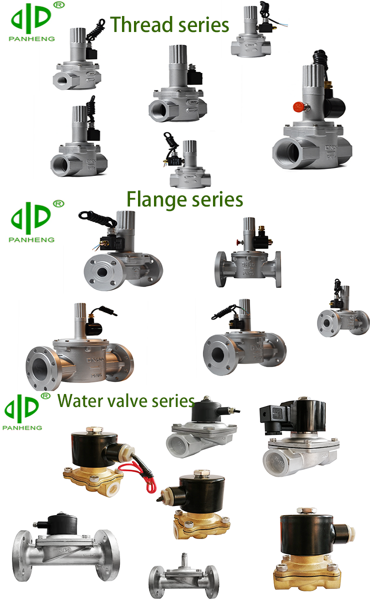 Hot commonly used in industry gas electromagnetic hydraulic electric water control solenoid valve