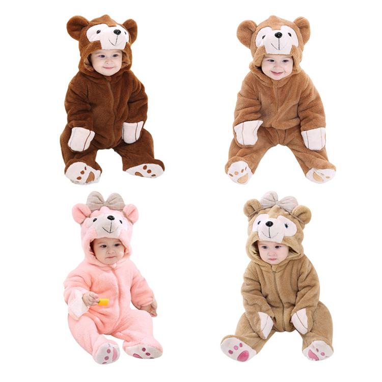 Ropa de bebé infantil bebé recién nacido mameluco Animal ropa de bebé