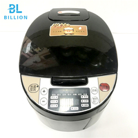 Free OEM Stainless Steel Body Square Model Smart Electric Multi Function Industrial Rice Cooker Price Cheap