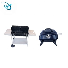 Draagbare Geëmailleerd pig klei bbq grill