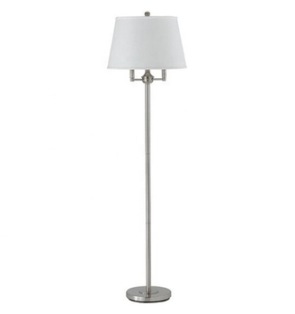 New Products Metal And Fabric Tripod E27 Standing Floor Lamp