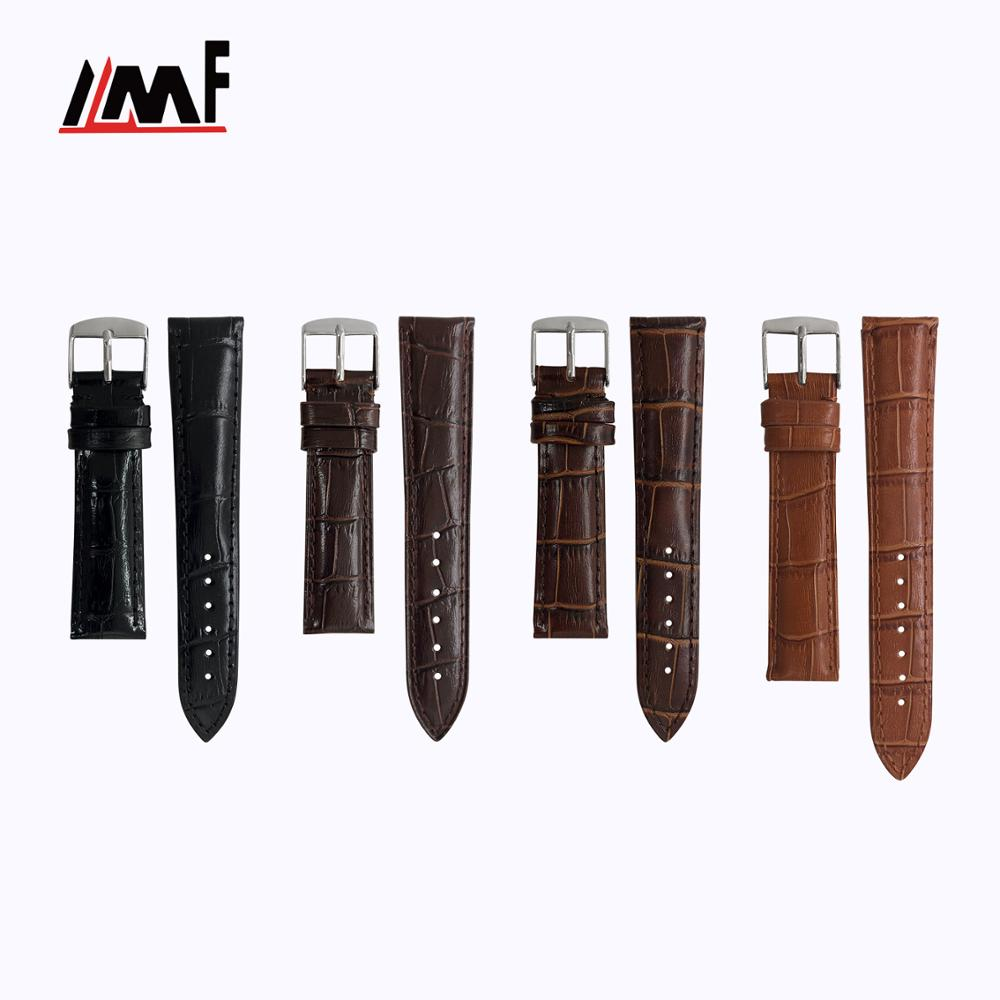 Custom Made New Trend Multi Size Good Quality Calf Leather Breathable Smartwatch Band For Watch