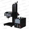 Dot pin engraving machine for Industrial motorcycle part nameplate metal with CE