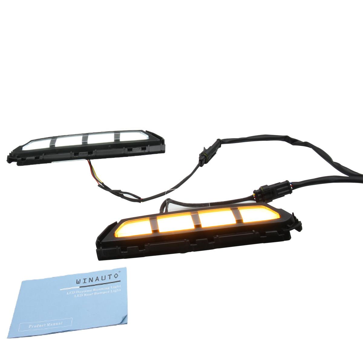 12V LED Driving light  LED Daytime Running Light  For Hyundai Elantra  2019 With best design