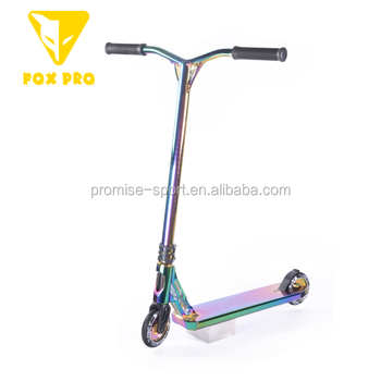 FOX PRO Complete Pro Scooter Neo Chrome pro Scooter Freestyle Trick Pro Stunt Scooter with Aluminum for Kids,Teenagers