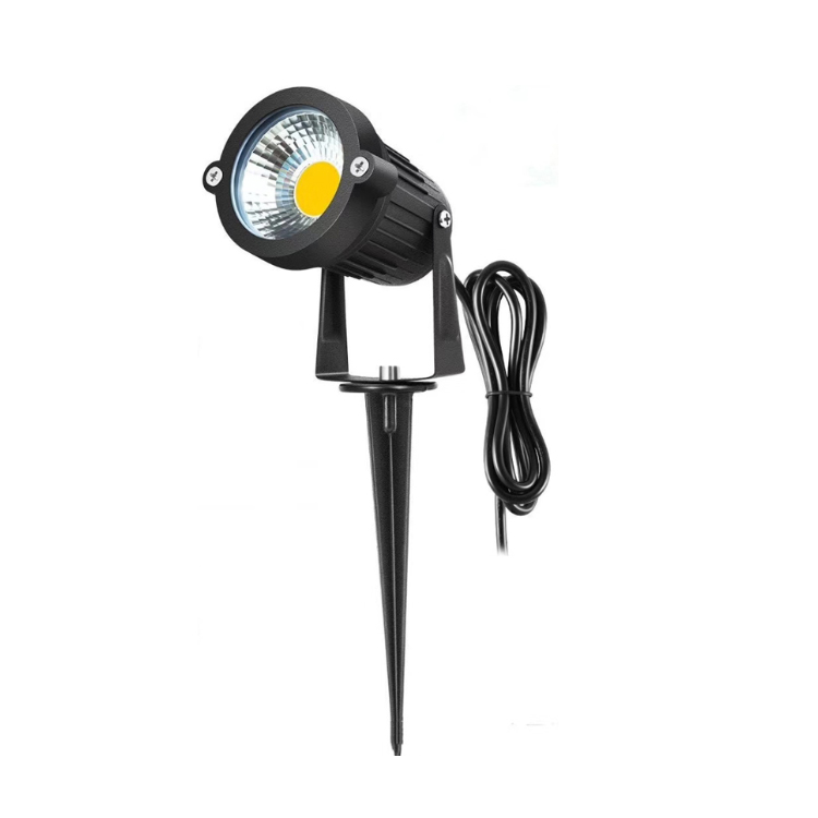 Rotatable Spike Waterproof Lighting Aluminum Dimmable Cheap Outdoor Garden 3W Landscape Spot Light