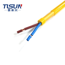 Multi Core Strang Kupfer PUR-YY 300/500V Flexible Control Draht Kabel 2x1. 5mm2 Für <span class=keywords><strong>Industrie</strong></span>