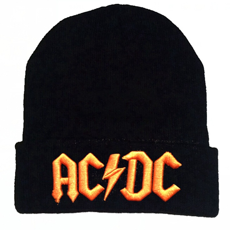 Custom 3D Embroidered Beanie Hat Winter Hats Knitted