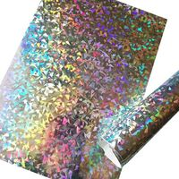 Magic Color Laser Sprayed Paper Aluminized Metallized Hologram Paper Gift Wrapping Paper