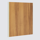 Laminated WPC Indoor Decoration Panel PVC Interior Wall Cladding