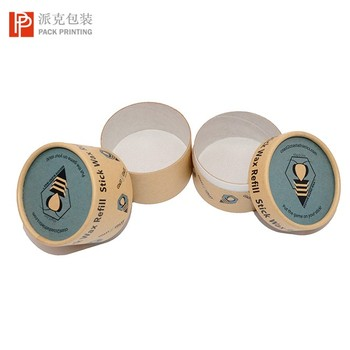 Customizing Biodegradable Cylinder Cardboard Tube Packaging Box for Food Biscuit Paper Packaging