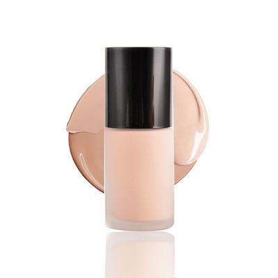 2019 New Design Cosmetic Fullcoverage Dark Skin Private Label Long Lasting Moisturizing Foundation Makeup Liquid