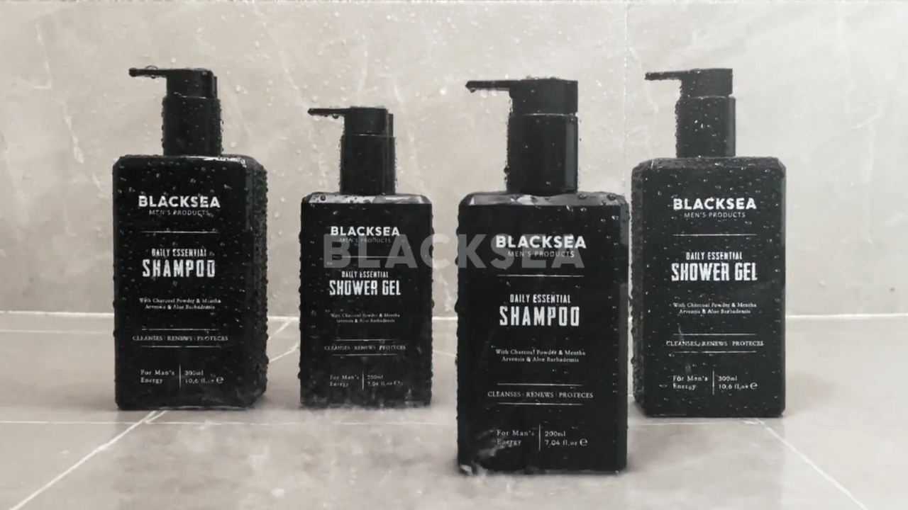 Private Label Men's Series Shower Gel Body Wash Gift Set Wholesale Retail Refreshing And Oil Control