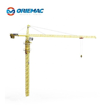 China Oriemac tower crane zoomlion QTZ80 Tower crane 8 ton